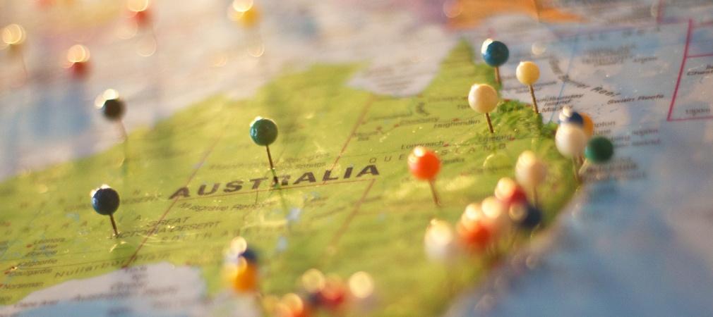 Australia sulla mappa