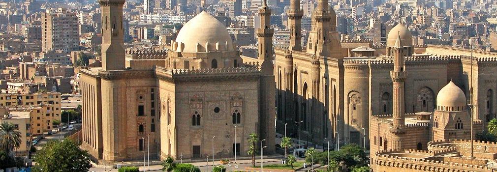 Una moschea al Cairo