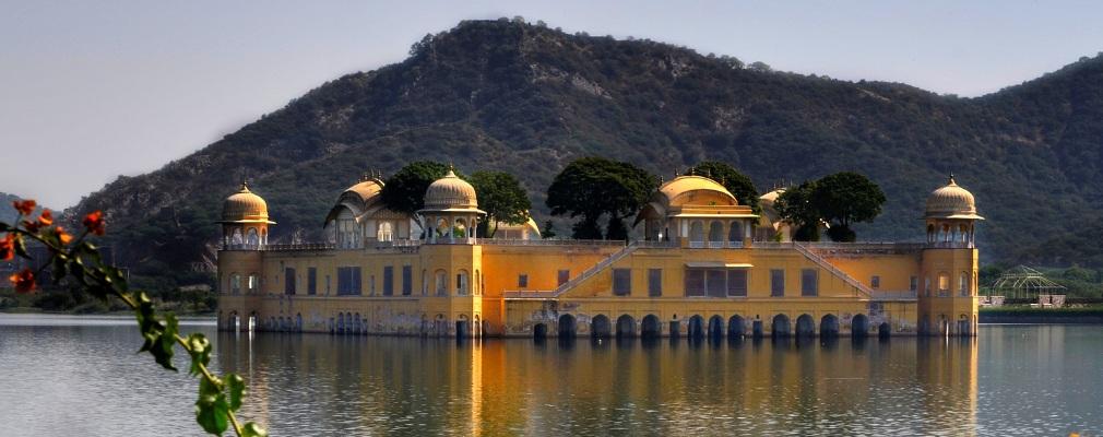 Jal Mahal (palazzo d'acqua), Jaipur, India