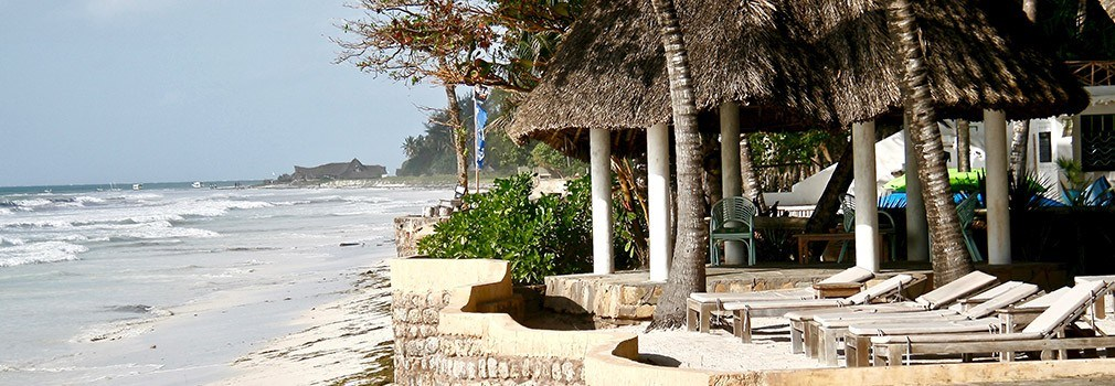 Un resort di Diani Beach in Kenya