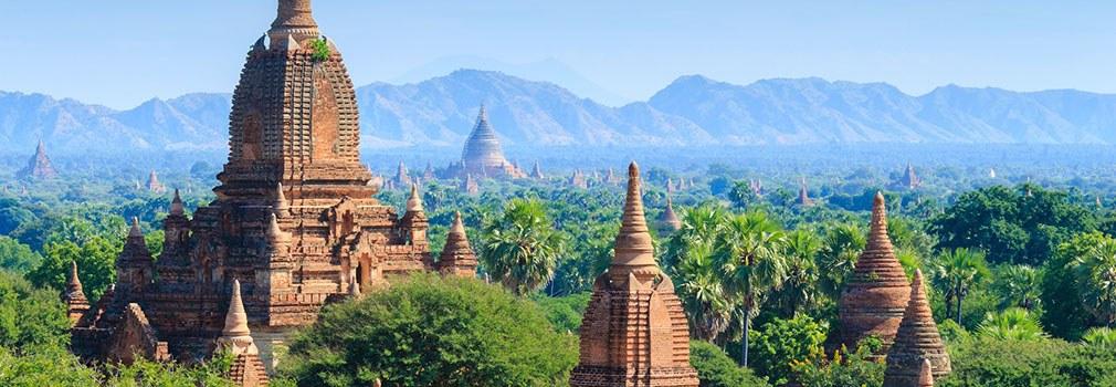 Bagan, nel Myanmar